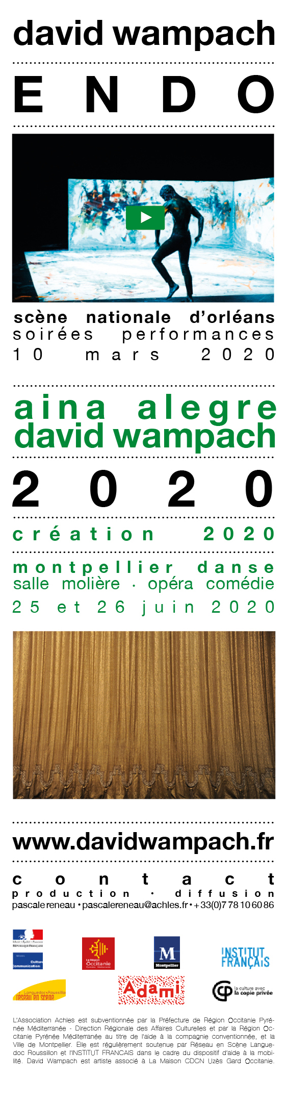 accueil : David Wampach Achles